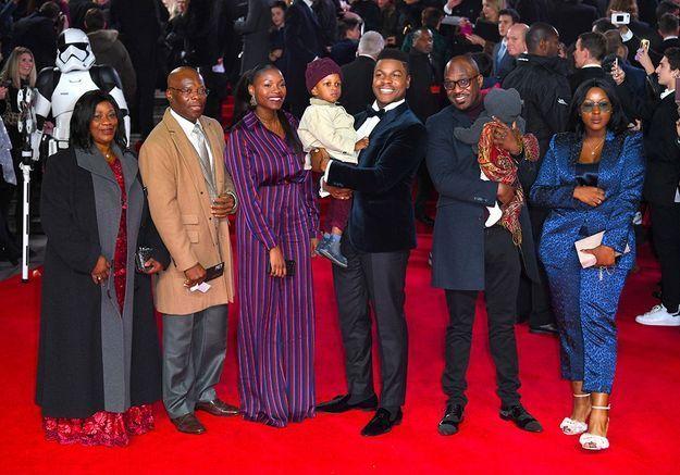 La famille de John Boyega