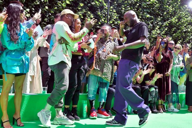 Kayne West et Virgil Abloh