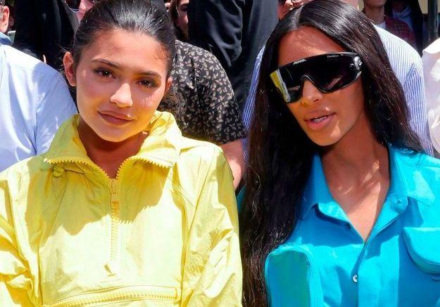 Kylie Jenner et Kim Kardashian