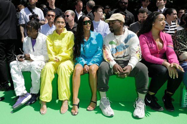 Travis Scott, Kylie Jenner, Kim Kardashian, Kanye West et Jordyn Woods