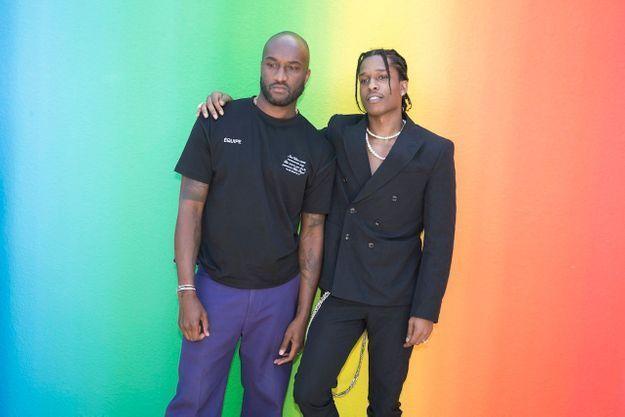 Virgil Abloh et ASAP Rocky