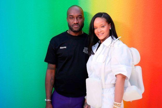 Virgil Abloh et Rihanna