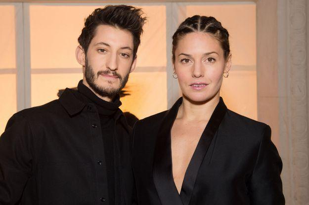 Pierre Niney et Natasha Andrews au défilé H&M Studio
