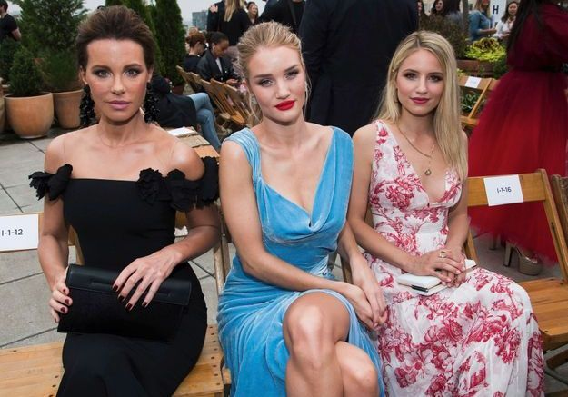 Kate Beckinsale, Rosie Huntington Whiteley et Dianna Agron and Nicky Hilton Rothschild