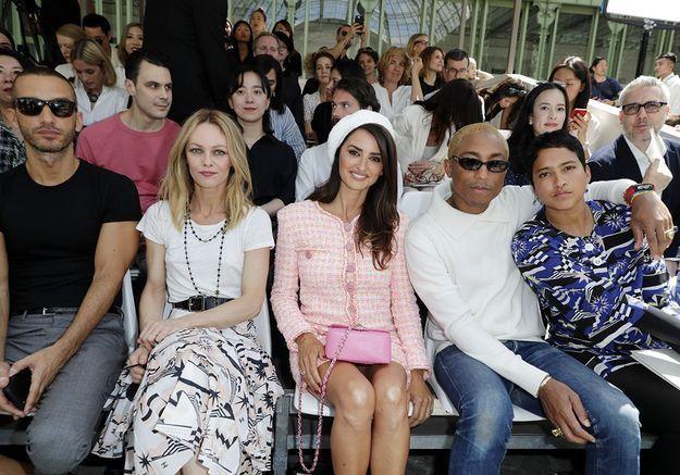 Le premier rang du défilé Chanel Couture