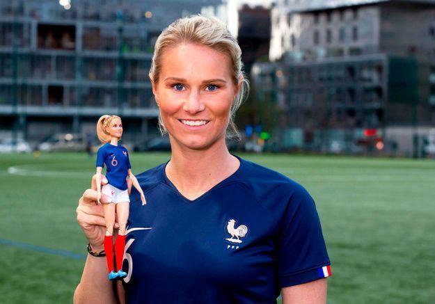 Amandine Henry dévoile une Barbie à son effigie : « À toutes les petites filles : rien n'est interdit, tout est réalisable »
