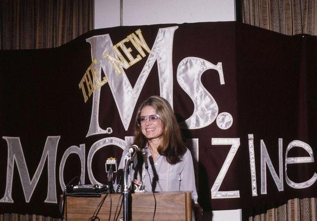 Gloria Steinem, éternelle rebelle
