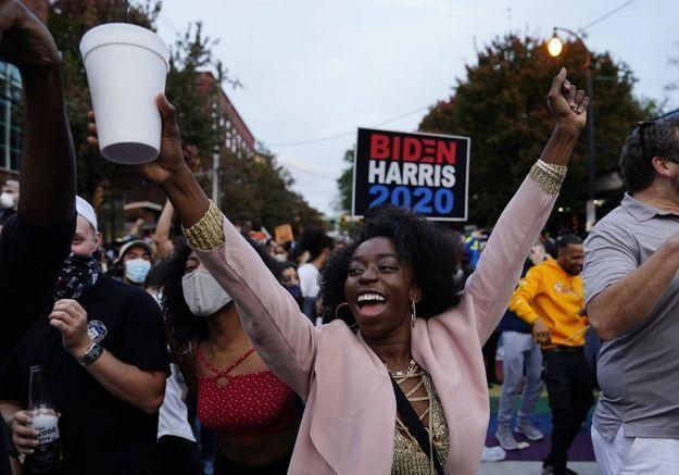 Marie-Cécile Naves : « Joe Biden doit une grande partie de sa victoire aux femmes noires »
