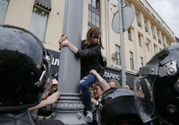 Russie : les teens contre Poutine
