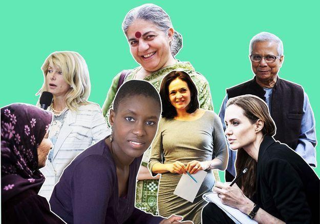 10 personnalités qui donnent envie de s'engager en 2014