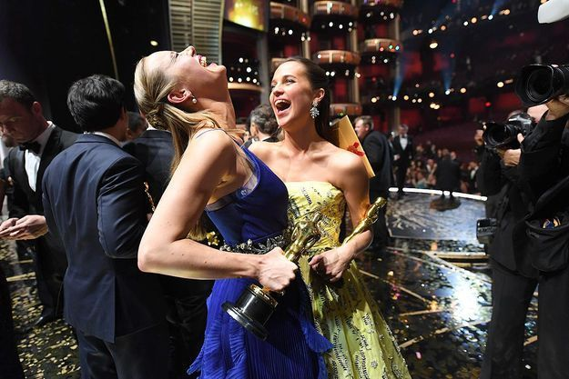 Brie Larson et Alicia Vikander