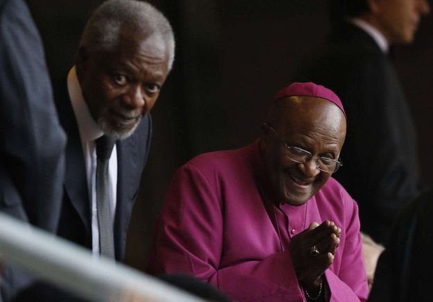 Kofi Annan et Desmond Tutu