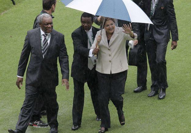 La Brésilienne Dilma Rousseff