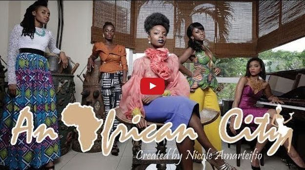 Les cinq héroïnes de la série « An African City »