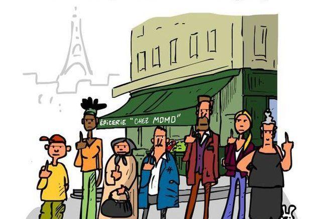 Caricature de Baudry