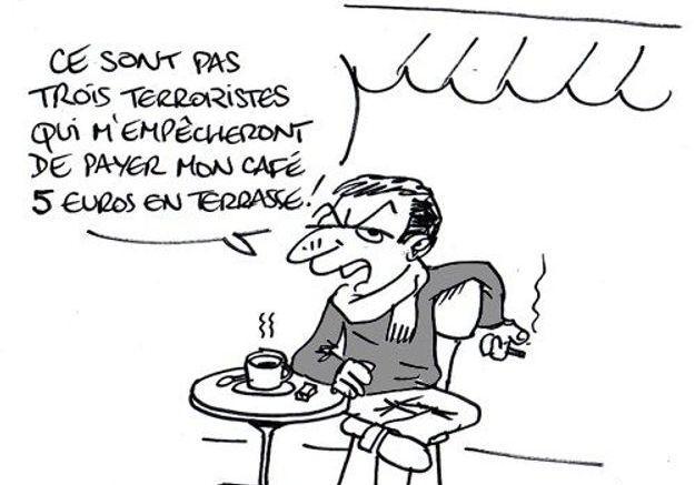 Caricature de Ray Clid