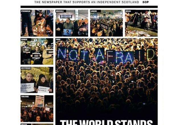 Le journal écossais The National Ecosse