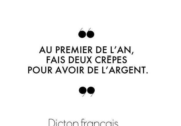 Dicton français