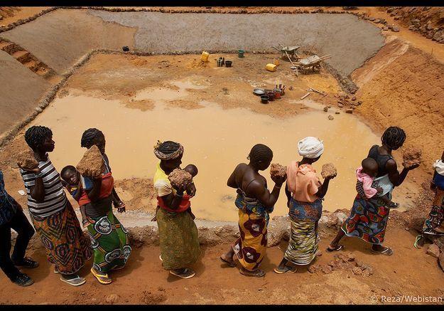 Burkina Faso, Village près de Kongoussi. 19 juin 2012