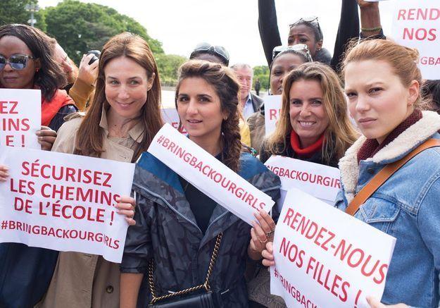 Elsa Zylberstein, Geraldine Nakache, Lisa Azuelos et Léa Seydoux