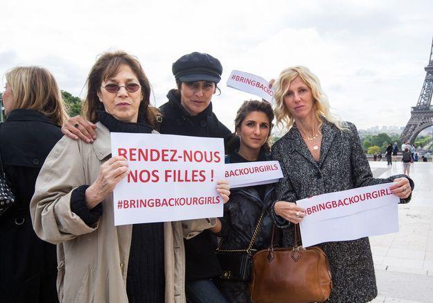 Jane Birkin, Inès de la Fressange, Géraldine Nakache et Sandrine Kiberlain