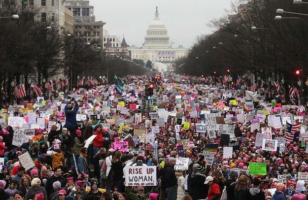 Des milliers de participants à la « Marche des femmes » de Washington