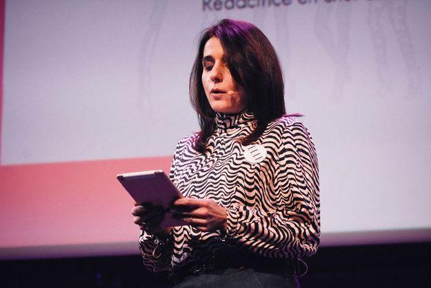 Anne-Cécile Sarfati, rédactrice en chef de ELLE