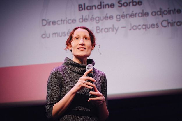 Blandine Sorbe, directrice générale déléguée adjointe du musée du quai Branly-Jacques Chirac