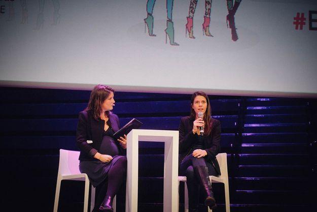 Clémence Leveau et Julia Mouzon