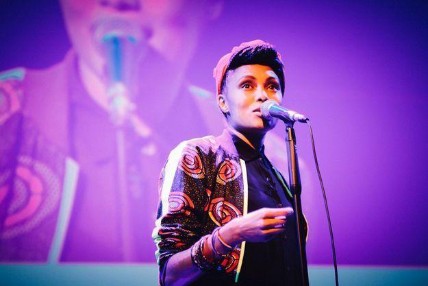 Imany chante pour les lectrices