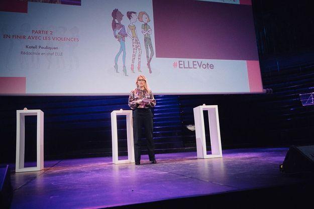 Katell Pouliquen, rédactrice en chef de ELLE