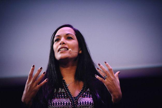 Najoua Arduini-ElAtfani, présidente du Club du XXI siècle de 2014 à 2016