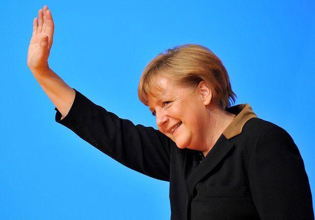 Angela Merkel pour son rôle de chef politique quasi indétrônable