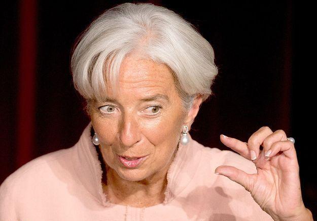 Christine Lagarde pour avoir décidé de mesures musclées pour faire face à la crise de la zone euro.