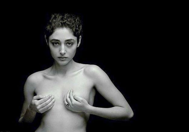 Golshifteh Farahani, actrice bannie d'Iran, pour avoir posé nue