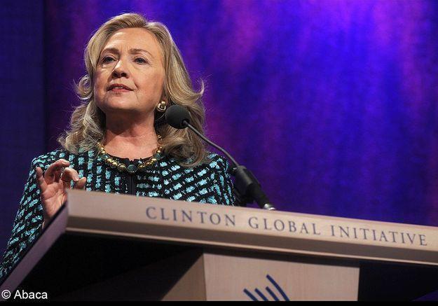 Hillary Clinton pour son action en tant que secrétaire d'Etat américaine