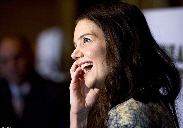 Katie Holmes pour son sourire retrouvé après son divorce express avec Tom Cruise