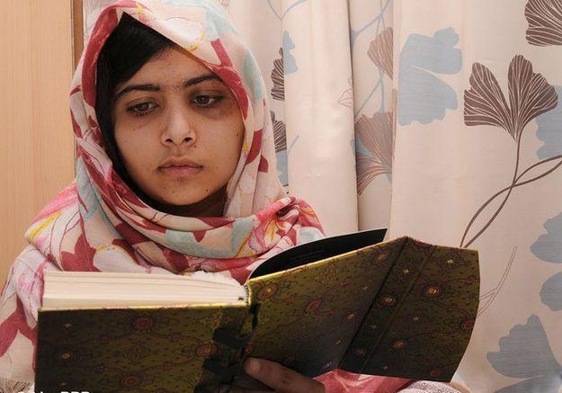 Malala Yousafzai pour sa lutte contre les Talibans