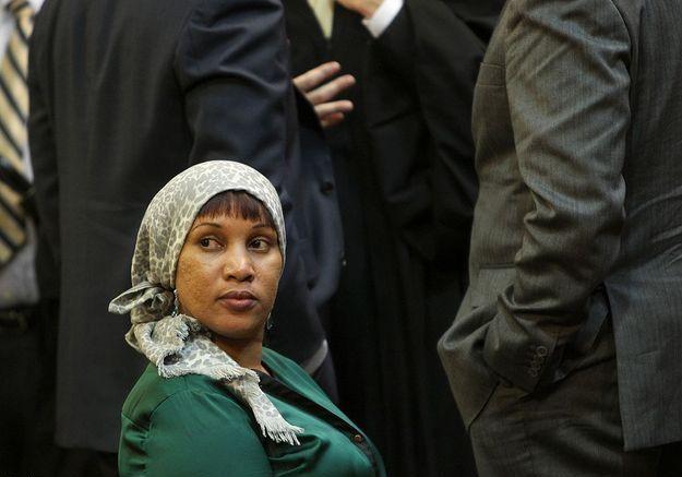 Nafissatou Diallo pour l'épilogue de l'affaire DSK