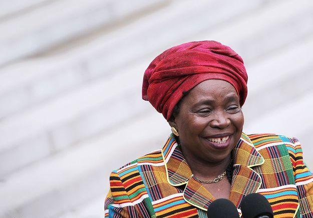 Nkosazana Dlamini-Zuma, première femme élue à la tête de l'Union africaine