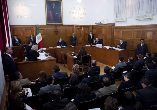 La cour suprême du Mexique