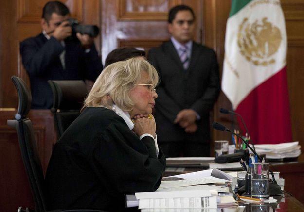 La juge Olga Sanchez