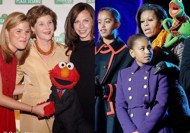 Michelle obama laura bush