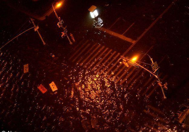 New york ouragan innondation