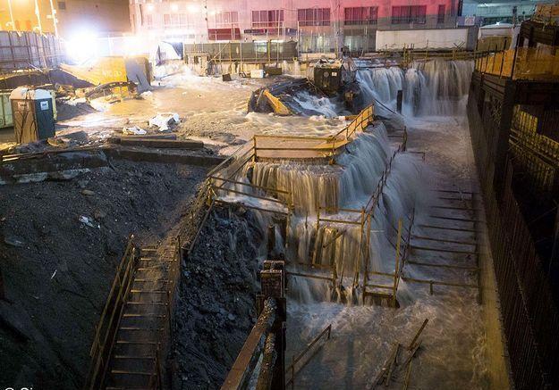 New york ouragan sandy ground zero
