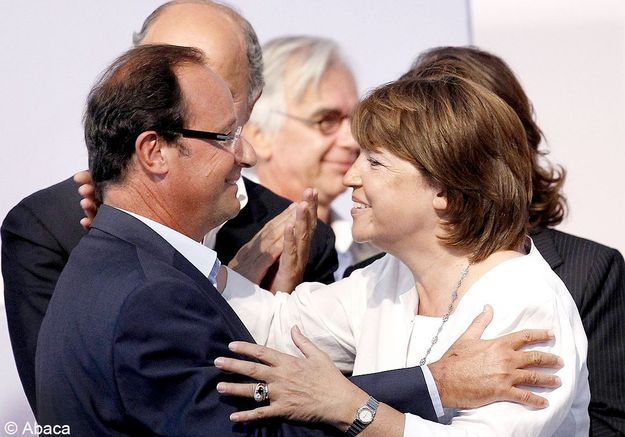 Martine Aubry s'incline face à Hollande