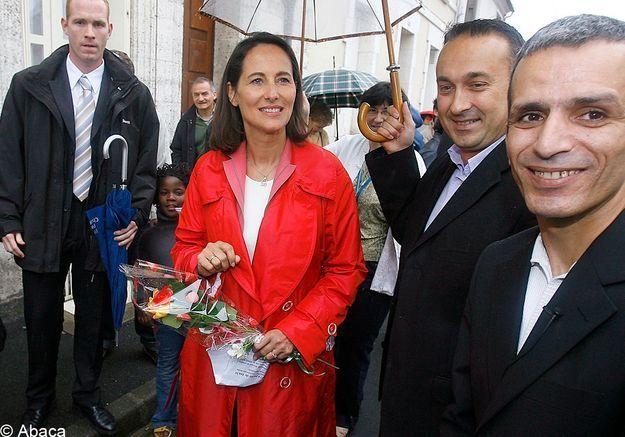Ségolène Royal, candidate à la présidentielle de 2007