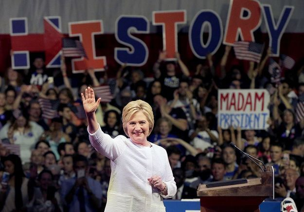 Sa victoire à la primaire démocrate