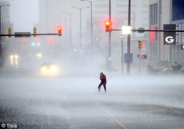 L'ouragan Sandy, peur sur la ville