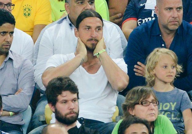 La star Zlatan Ibrahimovic